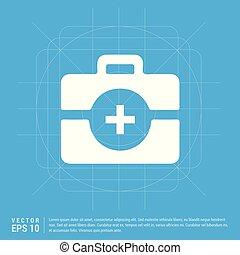 kit médical, icône