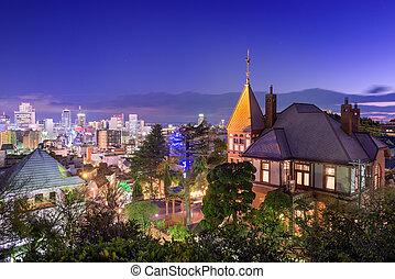 Kitano District of Kobe, Japan
