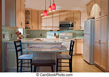 Kitchen and Decorations after Remodel - Newly remodeled...