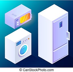 Kitchen Appliances for Smart House Collection