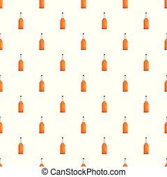 Kitchen bottle pattern seamless vector