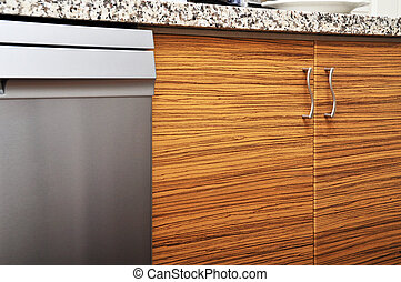 Kitchen cabinet - This is a modern and beautiful kitchen