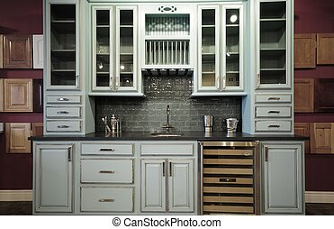 Cabinetry - Kitchen Cabinetry. Old Styled Kitchen Cabinets