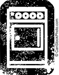 kitchen cooker icon symbol