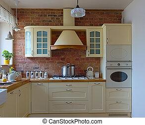 Kitchen design - Old style kitchen
