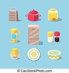 Kitchen Equipment Set