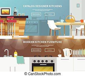 Kitchen Furniture Banner
