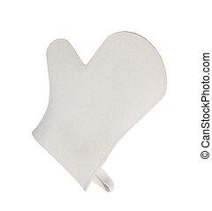 kitchen glove apron isolated