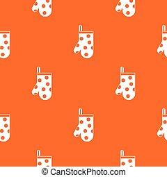 Kitchen glove pattern seamless