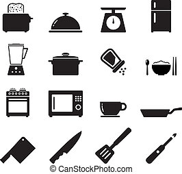 Kitchen Icon set for your design