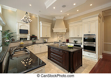 Kitchen in Contemporary Home - Kitchen in contemporary home