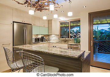 Kitchen in Contemporary Home