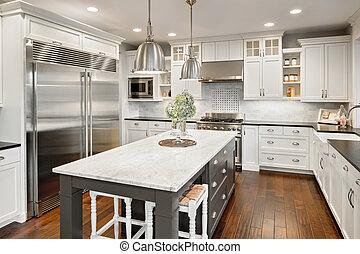 kitchen in luxury home - Beautiful Kitchen in Luxury Home ...