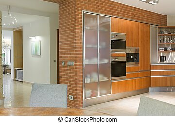 Kitchen in modern design