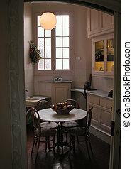 Kitchen in the Casa Mila