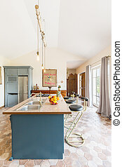 Kitchen island in the middle of your space