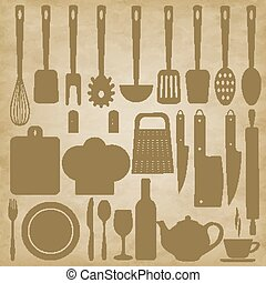 Kitchen items for cooking