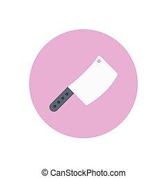 kichen  flat color icon