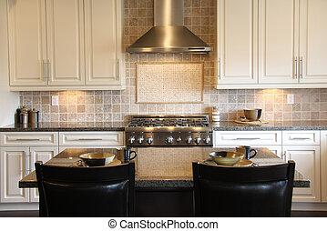 Kitchen - New luxury kitchen