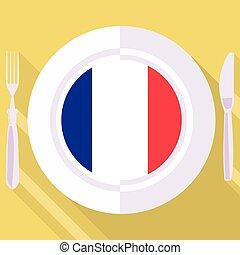 kitchen of France