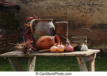 Kitchen of old times