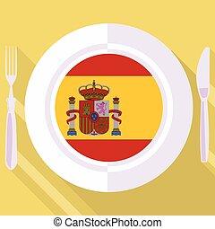 kitchen of Spain