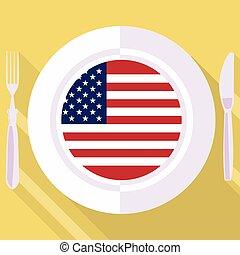 kitchen of United States