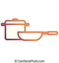 kitchen pot and pan utensils