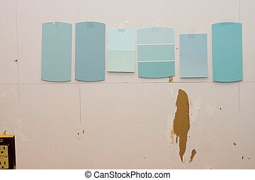 Kitchen Remodel Paint Swatches with Outlet