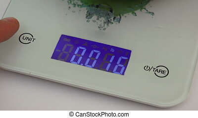 Kitchen scales electrons - the electron kitchen scale for...