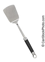 Kitchen spatula isolated