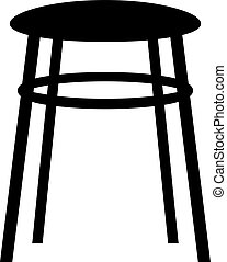 Kitchen stool, shade picture