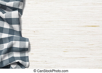kitchen table background with picnic cloth - kitchen table ...