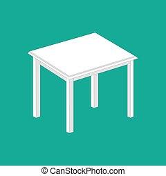Kitchen table illustration