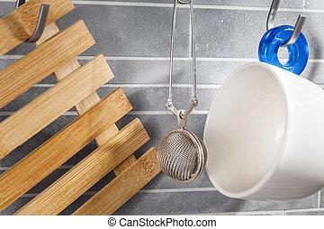 kitchen tea tools