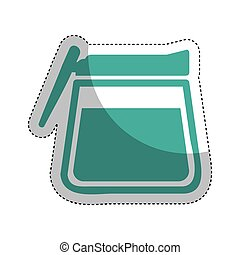Teapot Isolated Vector Clipart Illustrations 12 866