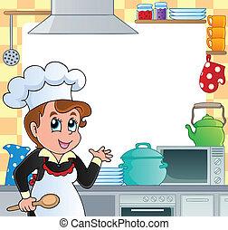 Kitchen theme frame 2