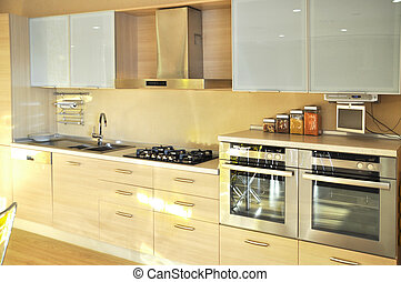Kitchen - This is a modern and beautiful kitchen