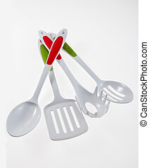 Kitchen Utensil Set - Set of cooking helper kitchen tools