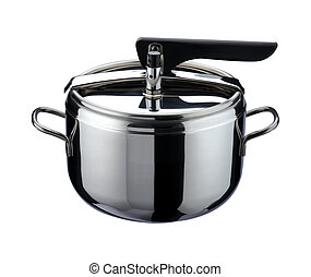 Kitchen Utensil - pressure cooker of steel stainless,...