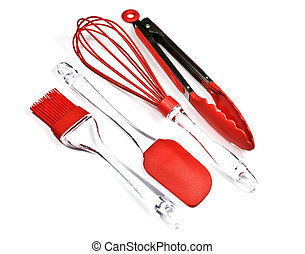 Kitchen Utensils - Modern and colorful kitchen utensils made...