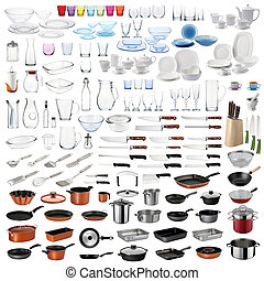 Kitchen utensils set - Kitchenware set with cooking/food ...