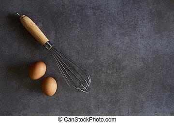 Kitchen Wire Whisk Eggs Beater