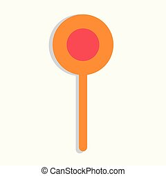 kitchenware icon. Flat isolated illustration for your web design.