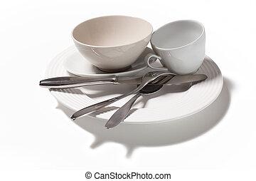 kitchenware isolated on white background