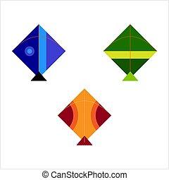 Kite Collection, Various Kites