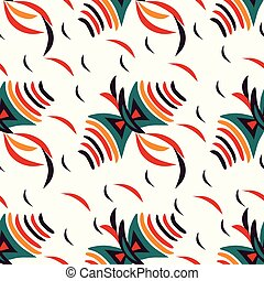 Kite color abstract pattern background