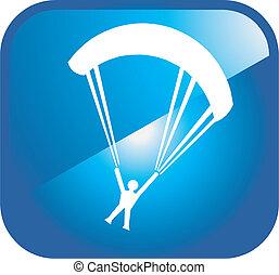 kite surfing icon