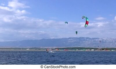 Kiteboarding Kitesurfing full HD video - Kiteboarding...