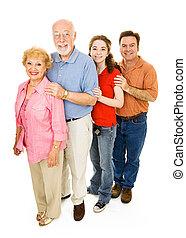 kiterjedt család, boldog